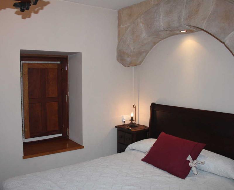 habitación románico