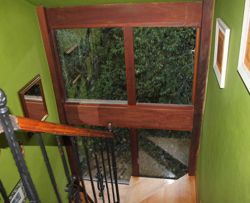 escalera 2º piso