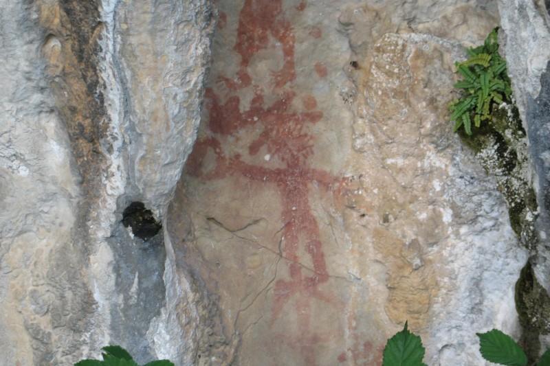 Ruta de las Pinturas rupestres de Fresnedo